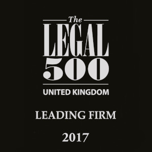 Legal 500 Leading firm 2017 logo